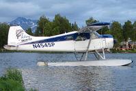 N454SP @ LHD - 1957 Dehavilland BEAVER DHC-2 MK.1, c/n: 1193 on Lake Hood