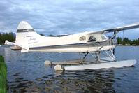 N9301Z @ LHD - 1958 Dehavilland DHC-2, c/n: 1934 on Lake Hood