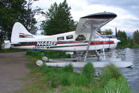 N444EF @ LHD - 1953 Dehavilland BEAVER DHC-2 MK.1, c/n: 926 at Lake Hood