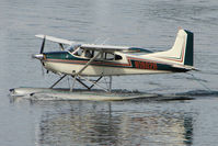 N1802R @ LHD - 1974 Cessna A185F, c/n: 18502518 on Lake Hood