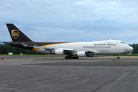 N570UP @ PANC - UPS 2007 Boeing 747-44AF, c/n: 35667 at Anchorage