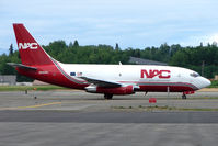 N320DL @ PANC - 1984 Boeing 737-232, c/n: 23092 of Northern Air Cargo at Anchorage