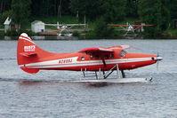 N2899J @ LHD - Rusts Flying Services 1961 Dehavilland OTTER DHC-3, c/n: 425 on Lake Hood