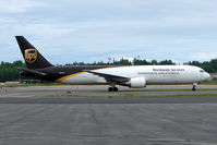 N311UP @ PANC - UPS 1996 Boeing 767-34AF, c/n: 27741 at Anchorage