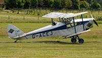 G-ACEJ @ EGTH - 5. G-ACEJ departing Shuttleworth (Old Warden) Airfield  - by Eric.Fishwick