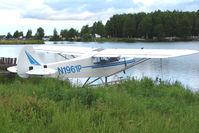 N1961P @ LHD - 1955 Piper PA-18-150, c/n: 18-4190 on Lake Hood