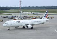 F-GTAY @ EDDT - Airbus A321-212 of Air France at Berlin-Tegel airport
