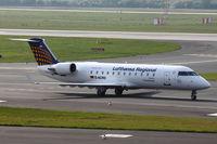 D-ACRD @ EDDL - Eurowings, Canadair CL-600-2B19 Regional Jet CRJ-200LR, CN: 7583 - by Air-Micha