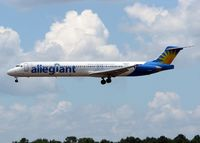 N864GA @ SHV - Landing at Shreveport Regional. - by paulp