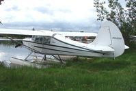 N1420H @ LHD - 1949 Aeronca 15AC, c/n: 15AC-477 on Lake Hood
