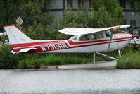 N736RR @ LHD - 1977 Cessna R172K, c/n: R1722733 on Lake Hood