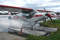 N74935 @ LHD - 1975 Piper PA-18-150, c/n: 18-7509100 at Lake Hood