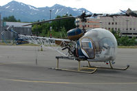 N247W @ MRI - 1968 Bell 47G-3B-2, c/n: 6683 at Merrill Field