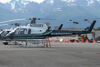 N352EV @ MRI - 1991 Eurocopter AS 350 B2, c/n: 2555 at Merrill Field