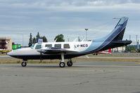 LV-MEG @ MRI - Argentine Aerostar along way from home at Anchorage Merrill Field Alaska