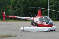 N8324U @ MRI - 1995 Robinson Helicopter Company R22 MARINER, c/n: 2570M at Merrill Field