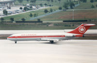 C-GYND @ TPA - Boeing 727-233 of Air Canada taxying to the active runway at Tampa in May 1988. - by Peter Nicholson
