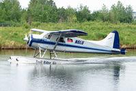 N6LU @ LHD - 1954 Dehavilland BEAVER DHC-2 MK.1, c/n: 908 on Lake Hood