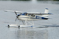 N116AK @ LHD - 1965 Cessna 180H, c/n: 18051469 on Lake Hood