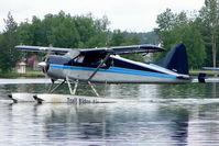 N310NR @ LHD - 1952 Dehavilland DHC-2 MK. I(L20A), c/n: 396 on Lake Hood