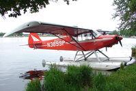 N3899P @ LHD - 1956 Piper PA-18-150, c/n: 18-4732 on Lake Hood