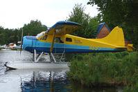N697 @ LHD - Dehavilland-kenmore DHC-2, c/n: 697 on Lake Hood