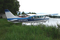 N1834Q @ LHD - 1975 Cessna U206F, c/n: U20602941 on Lake Hood