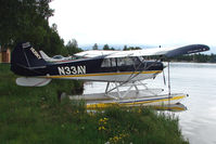 N33AV @ LHD - 1996 Aviat Aircraft Inc A-1, c/n: 1332 on Lake Hood