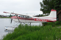 N2792J @ LHD - 1969 Cessna A185E, c/n: 185-1542 on Lake Hood
