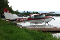 N756MP @ LHD - 1977 Cessna U206G, c/n: U20604202 on Lake Hood