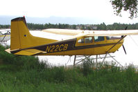N22CB @ LHD - 1973 Cessna A185F, c/n: 185-02188 on Lake Hood