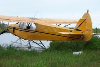 N82977 @ LHD - 1977 Piper PA-18-150, c/n: 18-7809003 on Lake Hood
