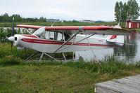 N66884 @ LHD - 1975 Piper PA-18-150, c/n: 18-7509090 on Lake Hood