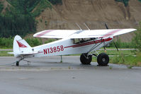 N13858 @ PAHV - 1971 Piper PA-18-150, c/n: 18-8964 at Healy River - by Terry Fletcher
