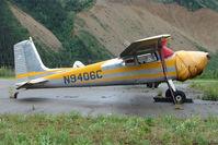 N9406C @ PAHV - 1955 Cessna 180, c/n: 31804 at Healy River