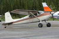 N3311D - 1955 Cessna 180, c/n: 32109 noted on airstrip just south of Denali Park
