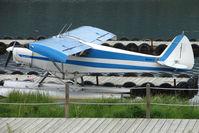 N5357X @ 5BL - 1960 Piper PA-18-150, c/n: 18-7391 on Homer Beluga Lake