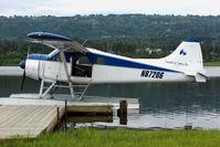N67206 @ 5BL - 1955 Dehavilland BEAVER U-6A, c/n: 1011 on Homer Beluga Lake