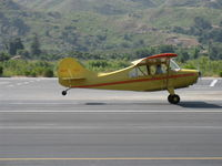 N84171 @ SZP - 1946 Aeronca 7AC CHAMPION, Continental A&C65 65 Hp, takeoff roll Rwy 22 - by Doug Robertson