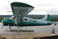 N77BA @ 5BL - 1964 Dehavilland DHC-2, c/n: 1549 of Beluga Air on Homer Beluga Lake