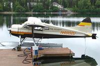 N4982U - 1956 Dehavilland DHC-2 MK. I(L20A), c/n: 904 of High Adventure on Soldotna Longmere Lake