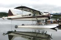 N314HA - 1954 Dehavilland BEAVER U-6, c/n: 54-1720 of High Adventure at Soldotna Longmere Lake