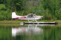 N80124 - 1976 Cessna A185F, c/n: 18503094 on Soldotna Longmere Lake