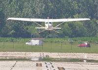 N172SS @ KDPA - Illinois Aviation Academy/ FLYING W LEASING INC Cessna 172L N172SS, departing RWY 33 KDPA. - by Mark Kalfas