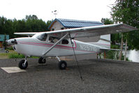 N2571G @ LHD - 1959 Cessna 182B, c/n: 51871 on Lake Hood