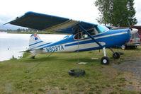 N8037A @ LHD - 1952 Cessna 170B, c/n: 20889 on Lake Hood