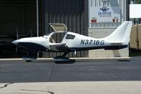 N371BG @ I19 - 2005 Lancair LC41-550FG - by Allen M. Schultheiss