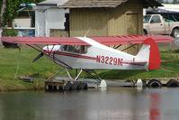 N3229M @ LHD - 1947 Piper PA-12, c/n: 12-2107