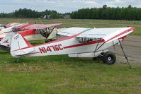 N1476C @ LHD - 1953 Piper PA-18-135, c/n: 18-2681 at Lake Hood
