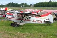 N57555 @ LHD - 1977 Piper PA-18-150, c/n: 18-7709124 at Lake Hood